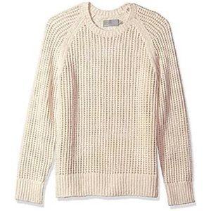 NWOT Vince Open Weave Crewneck Sweater